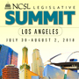 2018 logo for NCSL legislative Summit.