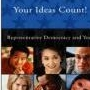 Your Ideas Count! Representative Democracy and You booklet cover