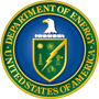 U.S. Dept. of Energy logo.
