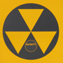 Nuclear Fallout shelter symbol.