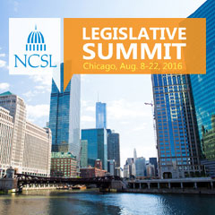 2016 NCSL Legislative Summit logo.