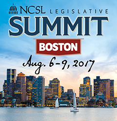 NCSl Boston Legislative Summit Logo.