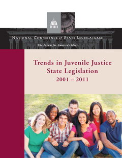Trends in Juvenile Justice Report Cover