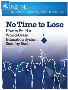 "Cover of the report ""NoTime to Lose"""