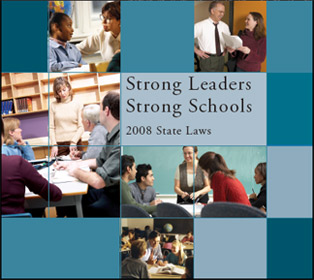 Report cover:  Strong Leaders Strong Schools