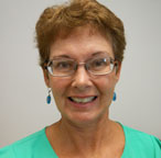 A photograph of Barbara Agnew, elections administrator for Burnet County, Texas
