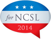 "A graphic that reads, ""For NCSL 2014."""
