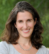 A photograph of Rebecca Green , co-director of the Election Law Program at William & Mary Law School.