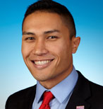 A photograph of Hawaii Representative Kaniela Ing (D)