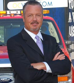 A photograph of Neal Kelley, registrar of voters for Orange County, Calif.