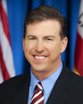 A photograph of California Assemblyman Kevin Mullin (D)
