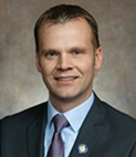 A photo of Senator Devin LeMahieu. Republican from Wisconsin