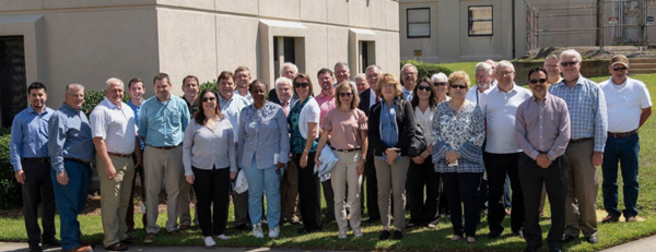 NLWG group photo at Savannah River National Lab, SC.
