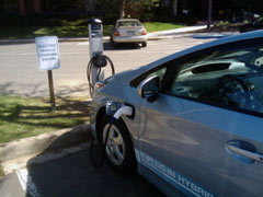 electric car station