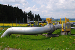 Pipelines for natural gas.