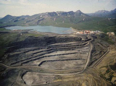 Mining in Alaska picture