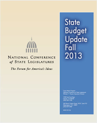 State Budget Update: fall 2013