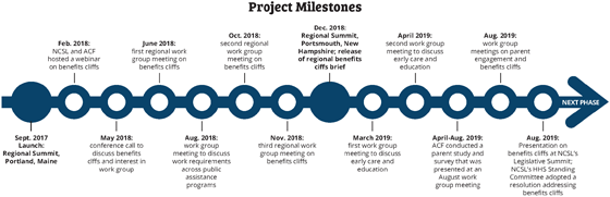 whole family approach project milestones timeline