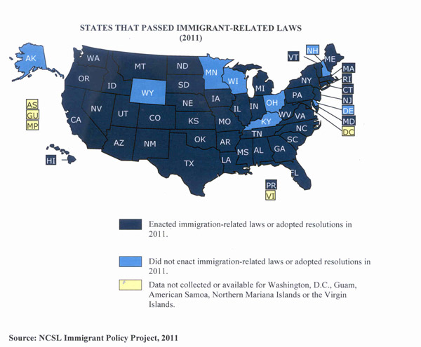 Immigration Map