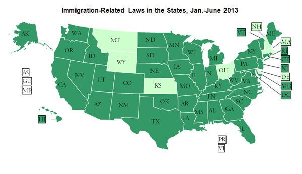 Immigration Report August 2013