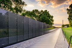 Vietnam Memorial in Washington, D.C.