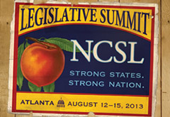 2013 NCSL Legislative Summit Logo