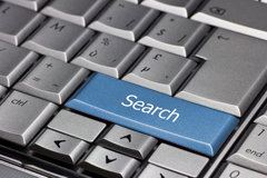 Computer key board search function key.