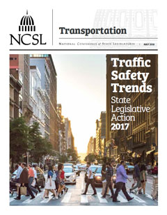 Cover of the 2017 Traffic Safety Report