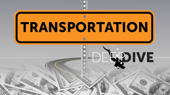 Transportation Deep dive logo.
