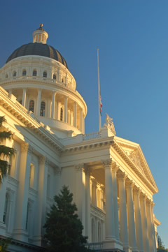 California state house.