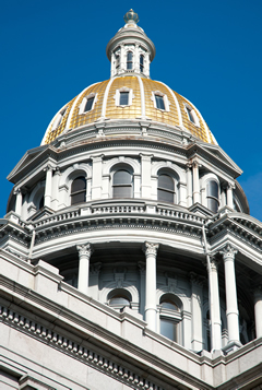 Colorado State Capitol building.