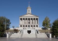 An image of the Tennessee State Capitol