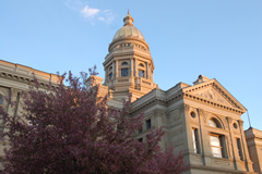 Wyoming legislature.