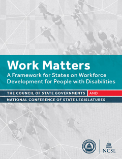 Work Matters - cover photo of report.