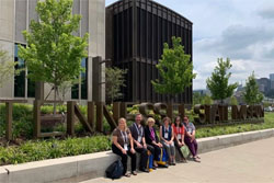 The LRL group in front of the Tennessee State Museum