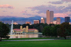 Photograph of Denver's City Park
