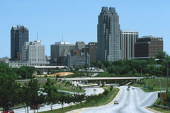 Picture of downtown Raleigh, Norrth Carolina