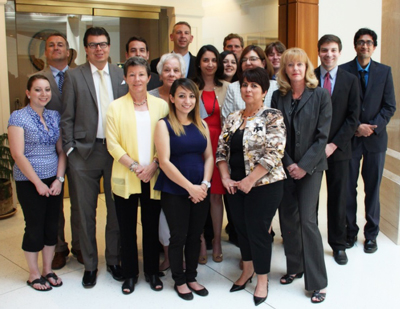 Photograph of New Mexico Legislative Finance Committee staff