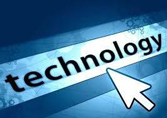 Image of an arrow pointing to the word technology