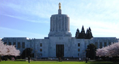 Picture of Oregon State Capitol