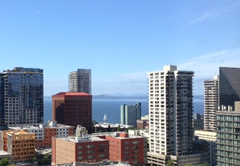 Photograph of downtown Seattle