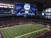 Picture of football stadium for the Dallas Cowboys