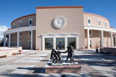 Picture of the New Mexico State Capitol