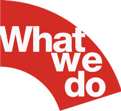 "The words ""What we do"""