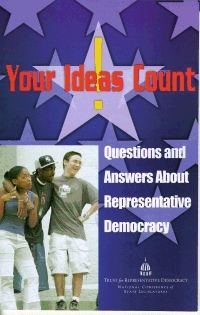 Your Ideas Count student pamphlet cover