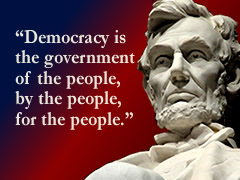 {President Lincoln statuet
