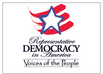 Representative Democracy in America logo