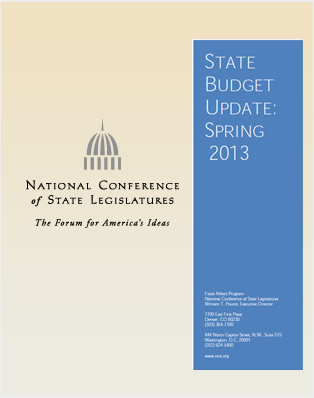 State Budget Update: Spring 2013