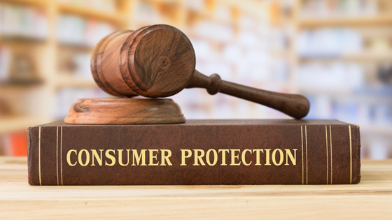 Gavel and Consumer Protection Law Book