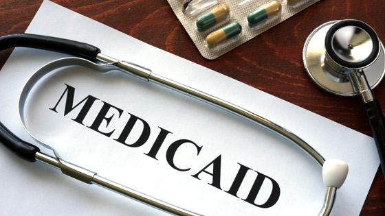 Medicaid with stethescope